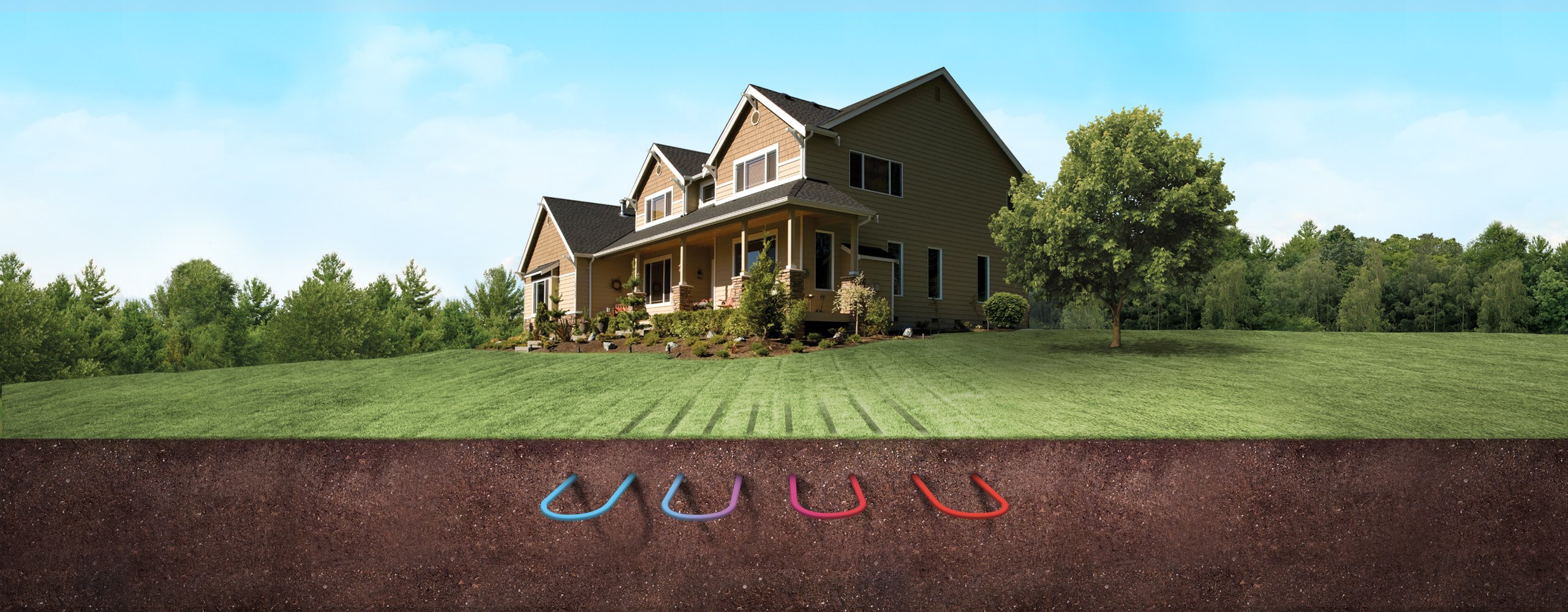 Geothermal is the greenest and most comfortable heating and