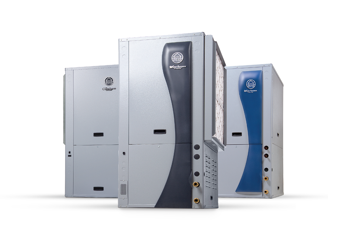 WaterFurnace 3 Series, 5 Series, and 7 Series geothermal heat pump
