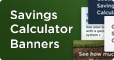 WaterFurnace Savings Calculator Banners