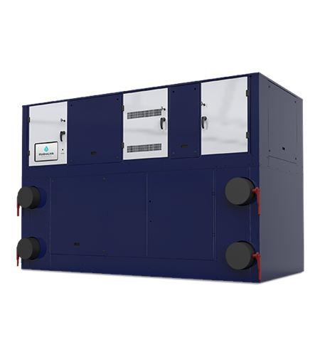 Water-to-Water Variable Speed Dual Screw Chiller